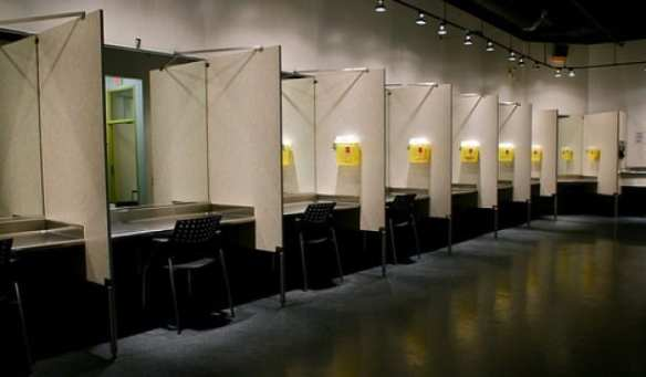 "An Insite ""supervised injection site"" in Vancouver, B.C. (Image: Seattle.gov)"