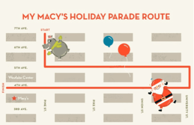 27th Annual My Macy's Holiday Parade @ Seventh Avenue and Pine Street