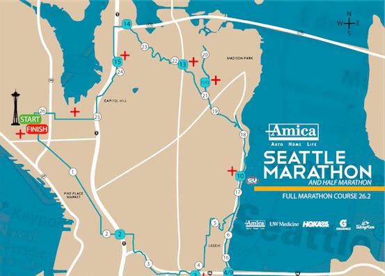 Seattle Marathon passes through Interlaken Park   CHS Capitol Hill ...