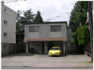 The duplex set to be demolished for the project. We told you it was ugly.