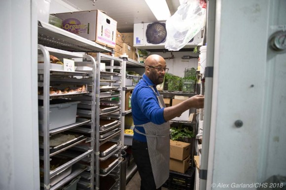"""""""There's a bit of an adjustment here because I've never really worked in a large, grocery store setting, but the mission and philosophy is something that I really believe in."""""""