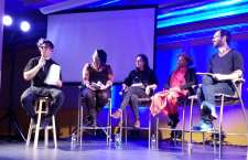 Erik Molano organizer, Mary Anne Henderson teacher,Cynthia Brothers from Vanishing Seattle, Anastacia Renee, Alex Brennan