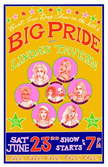 PRIDE PARTY AT LINDA'S TAVERN @ Linda's Tavern