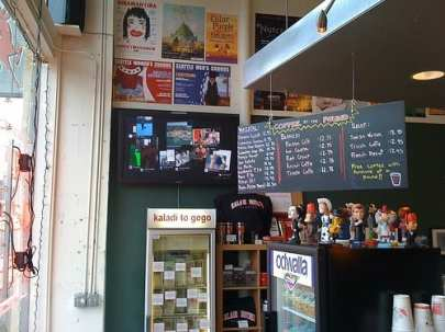 """The """"old"""" E Pike Kaladi space will soon be home to the coffee shop again"""
