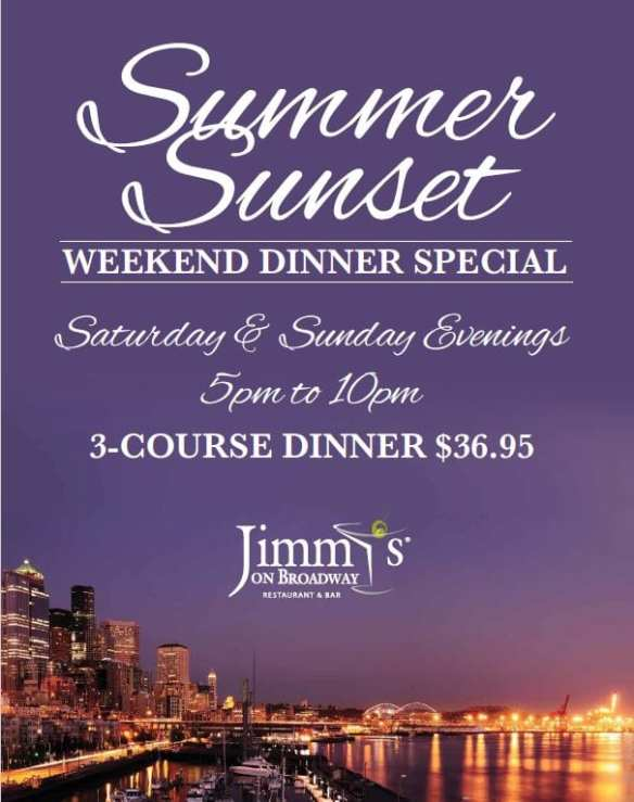 Summer Weekends at Jimmy's on Broadway @ Jimmy's on Broadway