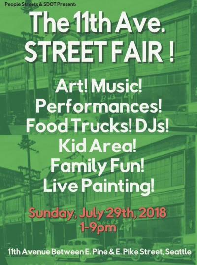 11th Ave Street Fair @ 11th at Pine