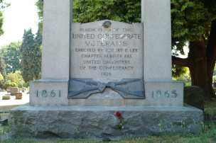 Confederate Memorial vandalized