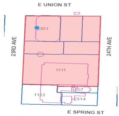 Design review: 2301 E Union @ Seattle University Admissions & Alumni Comm Bldg- Stuart T Rolfe Room