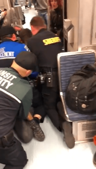 Video Shows U2018use Of Force U2019 Arrest For Fare Enforcement