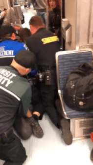 Video shows 'use of force' arrest for fare enforcement issue