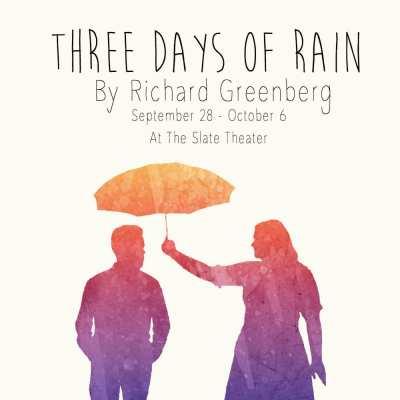 Three Days of Rain @ The Slate Theater