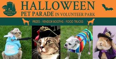 Halloween Pet Parade in Volunteer Park @ Volunteer Park