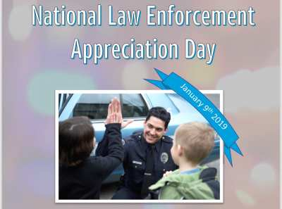 National Law Enforcement Appreciation Day! @ The Lounge By AT&T