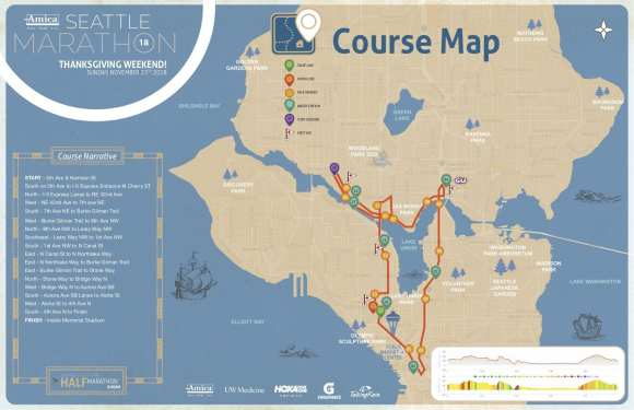 With new, flatter course, Seattle Marathon no longer ...