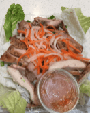 Vermicelli and chicken
