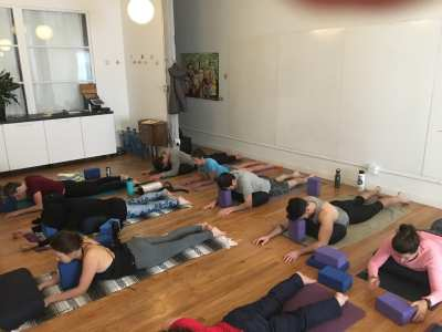 Yin Yoga in The SweatBox Loft @ The SweatBox Yoga Loft