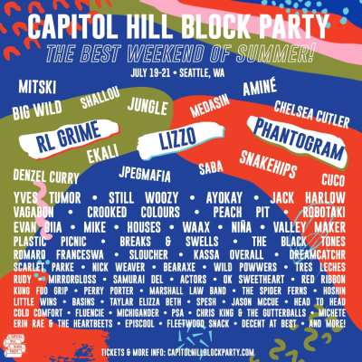 Capitol Hill Block Party 2019 @ 10th at Pike
