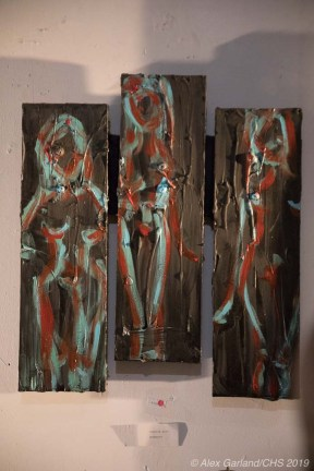 Artist: Carolyn Hitt - Location: Blue Cone Studios