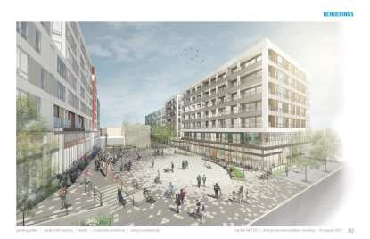 TOD site rendering_plaza only
