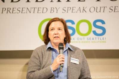 Speak Out Seattle's pick in District 3: neighborhood activist
