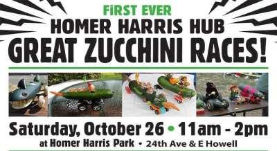 Homer Harris Great Zucchini Races @ Homer Harris Park