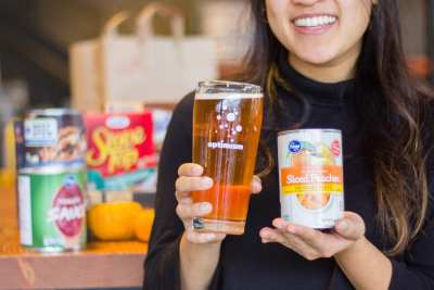 Give Food, Get Beer at Optimism Brewing Company @ Optimism Brewing Company
