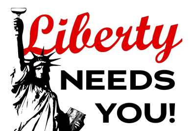 Liberty Needs You! Fundraiser for employee tips -- Plus sushi and booze