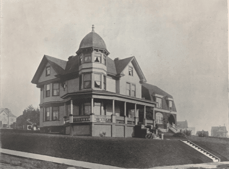 The house as it looked in 1905 (Image: Seattle of Today Architecturally)