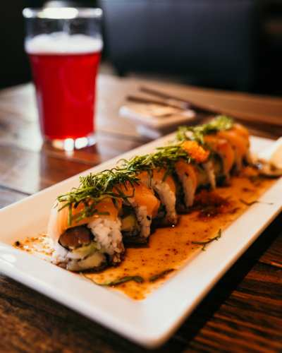 Sushi, coffee, and more at Liberty Bar @ Liberty Bar