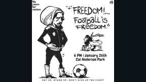 cal anderson soccer protest
