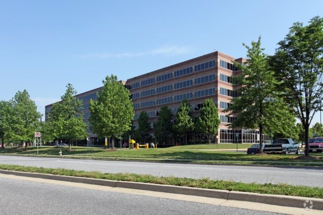 4700 River Road, Riverdale, Maryland was purchased this year by GSA for $30.6 million (photo: CoStar)
