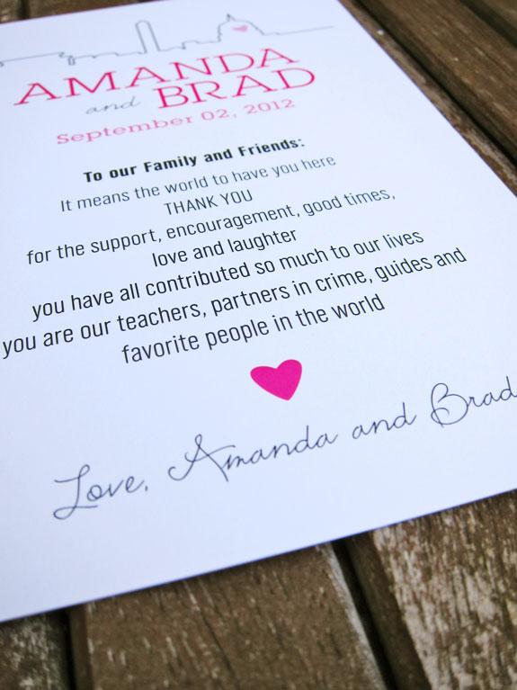 Thanks To Amanda Brad Tabibi Design For Sharing These Awesomely Inspiring Modern Washington Dc Wedding Invitation
