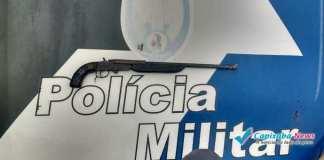 Jovem atira acidentalmente nele mesmo em Vargem Alta
