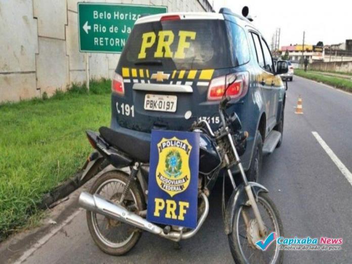 Moto é roubada três vezes em menos de um ano
