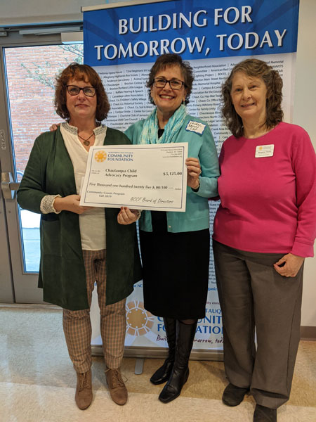 NCCF awards grant check to CAP