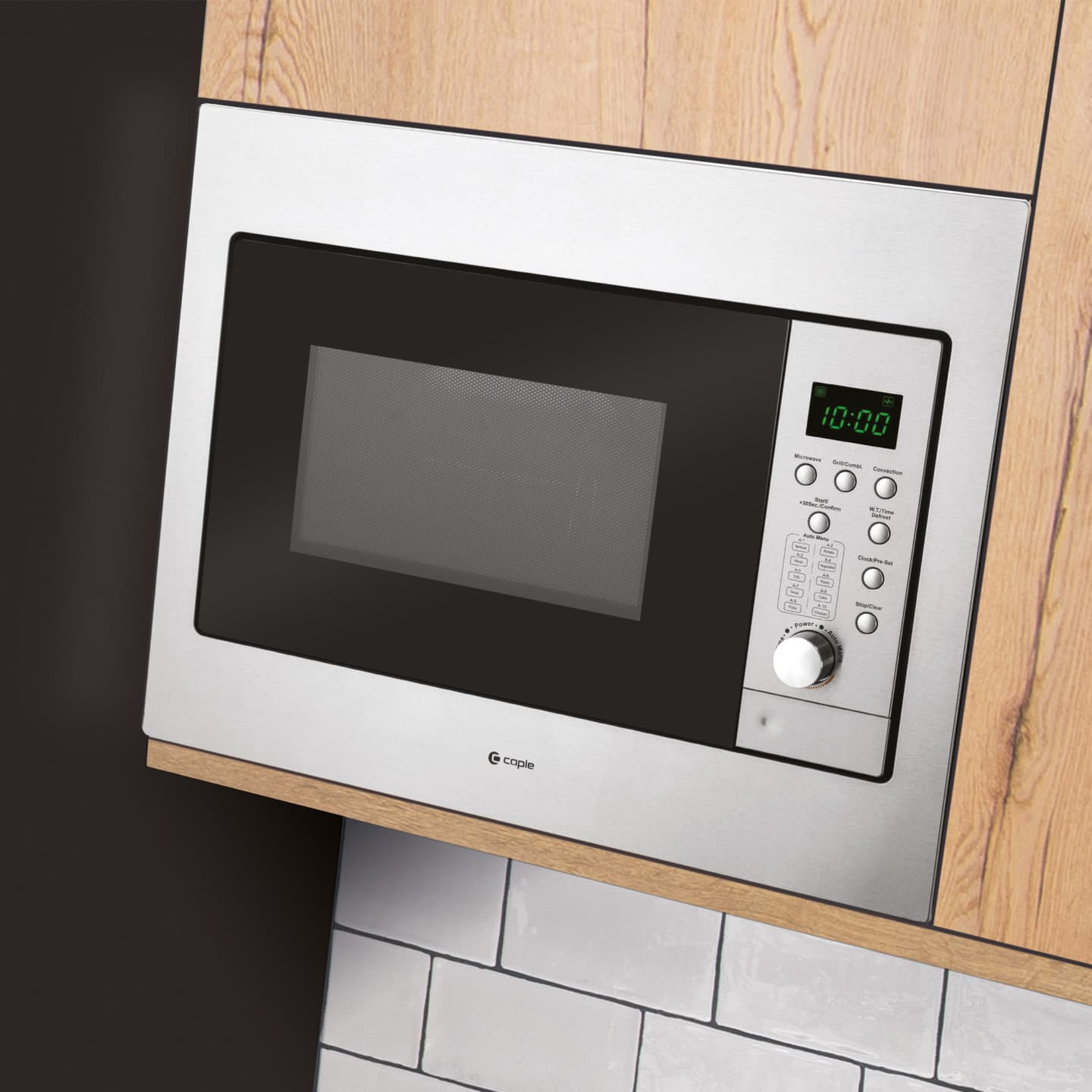 built in combi microwave grill