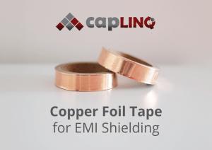 Copper tape for EMI shielding