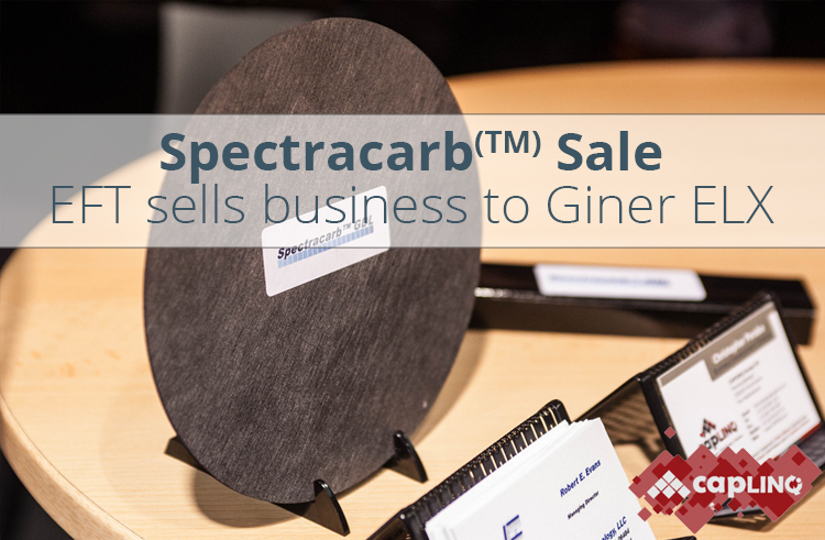 EFT sell Spectracarb business to Giner ELX