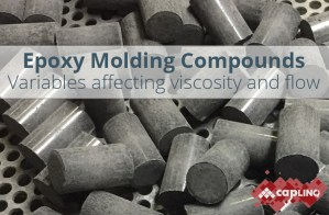epoxy molding compounds variables affecting viscosity flow wire sweep
