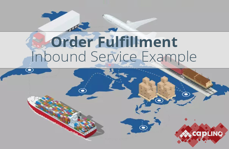 Order fulfillment & fiscal representation example as part inbound service