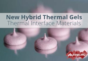 one-part & two part printable hybrid thermal gels for themal interface materials