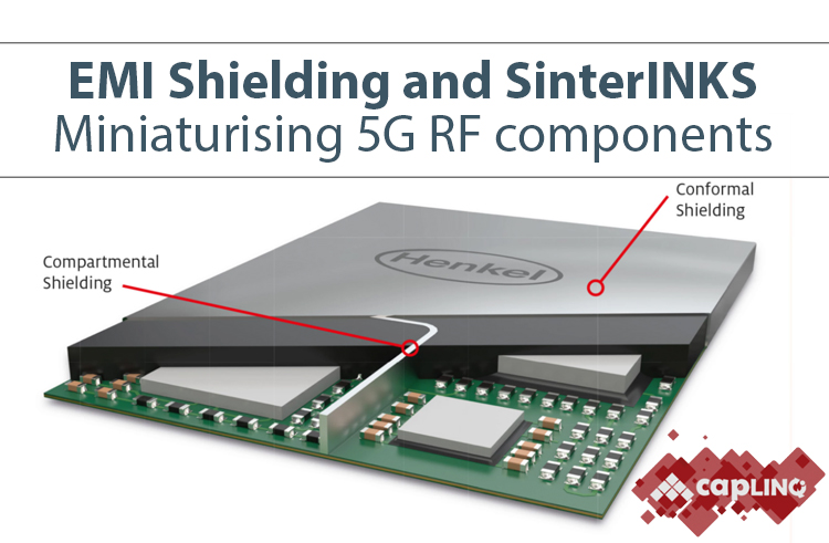 shielding RF components from electromagnetic interference