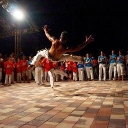 Show di Capoeira a Budapest