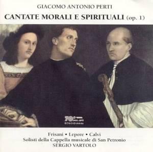 Perti, Cantate morali e spirituali (Vartolo)