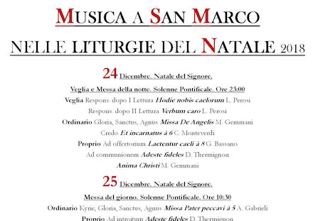liturgia natale 2018