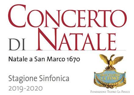 concerto di Natale - Fenice 2019