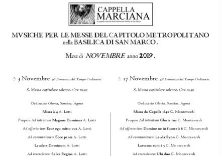 programma novembre 2019
