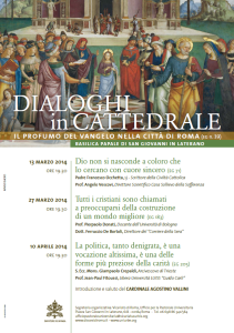 dialoghi in cattedrale