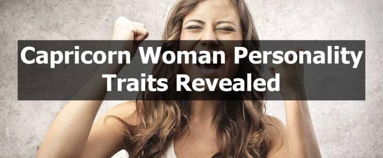 Capricorn Woman Personality Traits