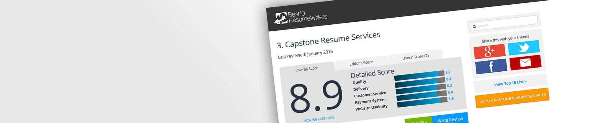 10 best resume writers template